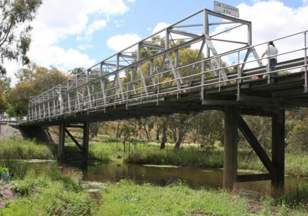 Queens Park Bridge, Barwon River Trail