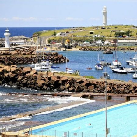 The Wollongong Lighthouses